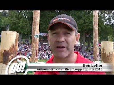 Powell River Logger Sports - Video teaser