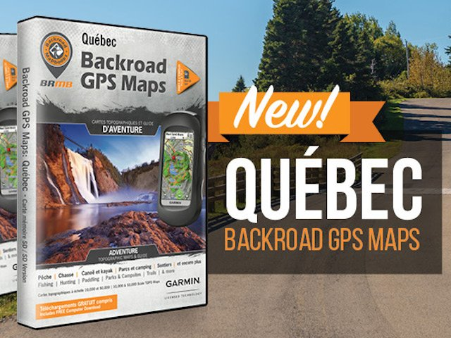 Quebec V7 Backroad GPS Maps