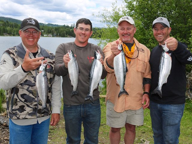 Kokanee Fishing the BC Cariboo