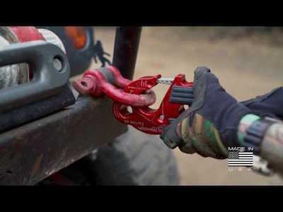 UltraHook - The world's safest winch hook teaser