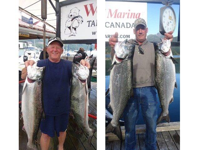 Esperanza Inlet and Nootka Sound fishing - July 7
