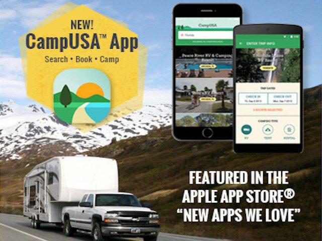 CampUSA app