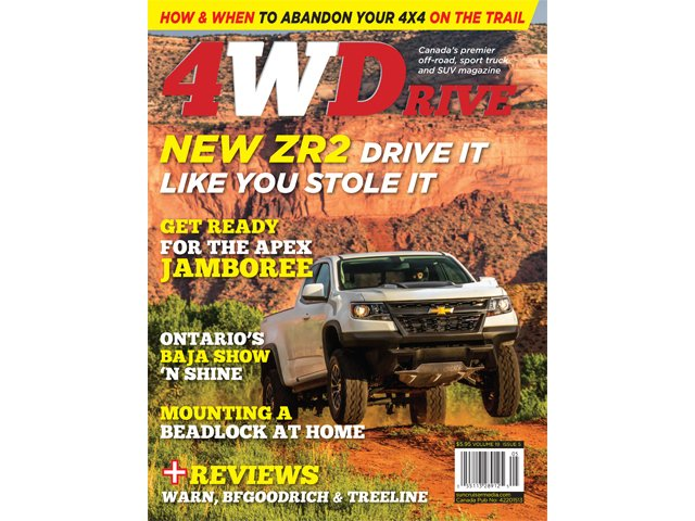 4WD195 cover