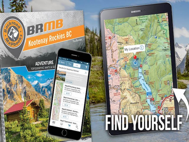 BRMB Topographic Maps on your mobile device