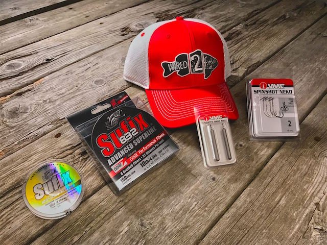 Sufix/VMC Hooks Drop Shot Gear Giveaway - ends Aug 15