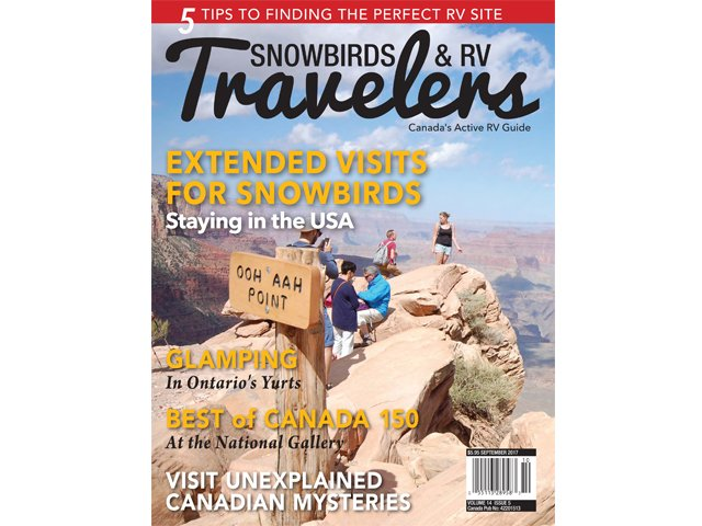 Snowbirds & RV Travelers 14.5 cover
