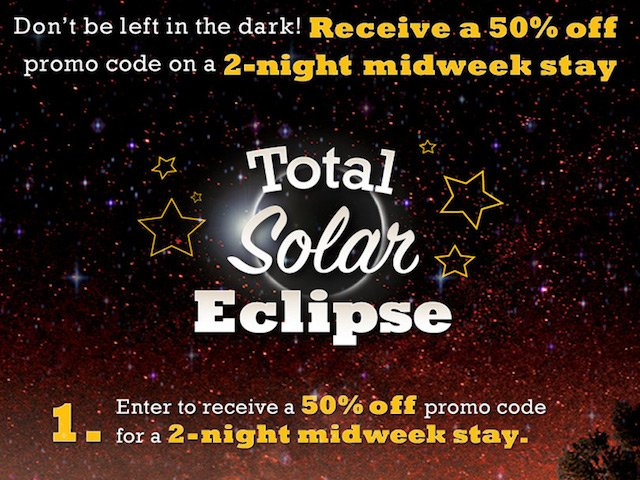 Total Solar Eclipse Special Offer from Thousand Trails