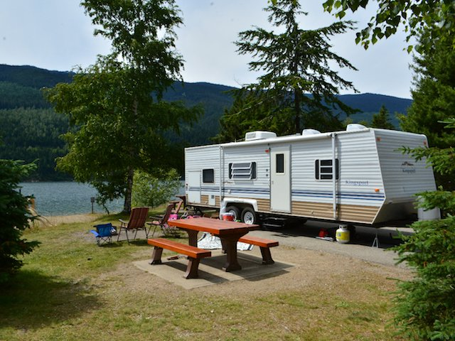 RV Camping provincial park