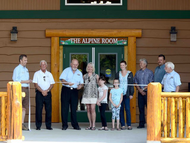 Grand Opening Celebration of the Alpine Room