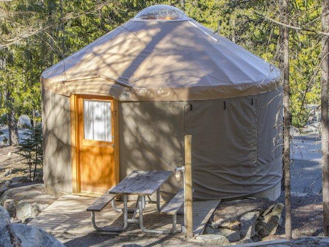 Sleep in a Yurt - Wasaga Pines Resort, ON