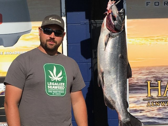 Vancouver Island Fishing Report - Sept 10/17