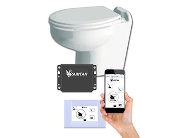 Bluetooth flushing through panel or app