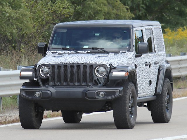 Spy Shots – 2018 Jeep Wrangler Rubicon Unlimited