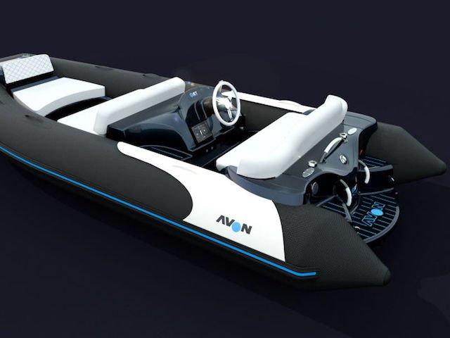 Zodiac Nautic & Torqeedo debut Avon electric tender