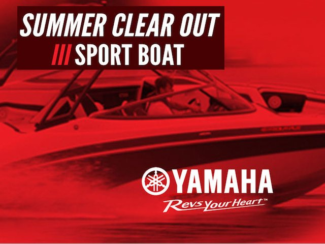 Yamaha 'Summer Clear Out' Rebates on now
