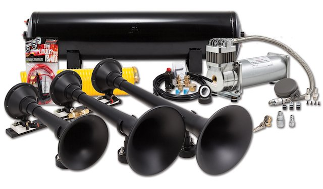Kleinn Problaster™ HK9-Slimline Universal Train Horn Kit