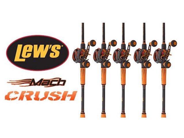 Lew's Mach Crush Baitcast Combo Giveaway