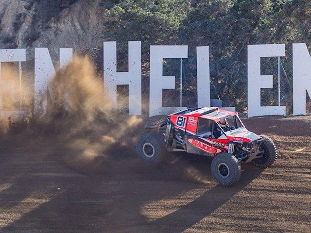 Levi Shirley kicking up dust at Glen Helen.jpg