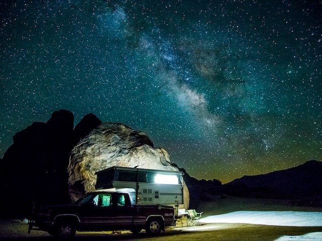 The Milky Way hangs over the camper in the Alabama Hills near Lone Pine, CA.jpg