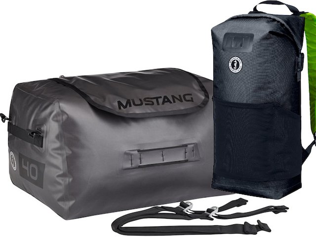 Mustang Survival's new Gear Haulers