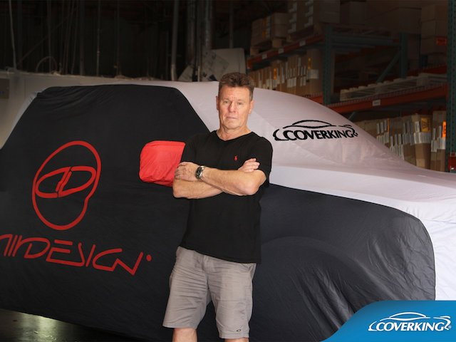 Coverking® custom car covers on display at SEMA