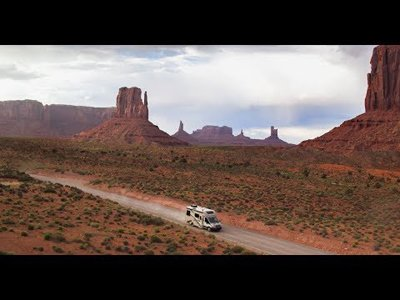 Thrill seekers head out west in CW RV teaser