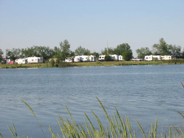 Morinville RV Park from the Water