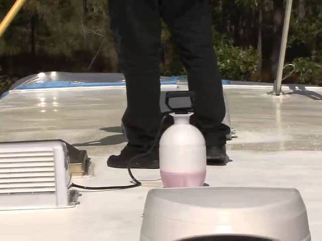 Maintaining your RV's Roof