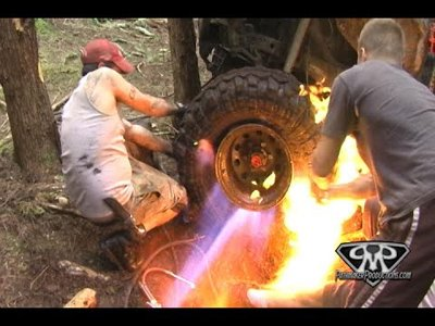 How to Mount a Tire with Fire - Video teaser