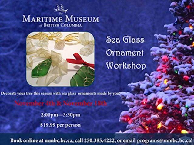 Sea Glass Ornaments Workshop