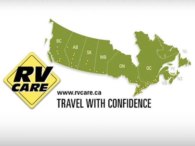 RV Care map