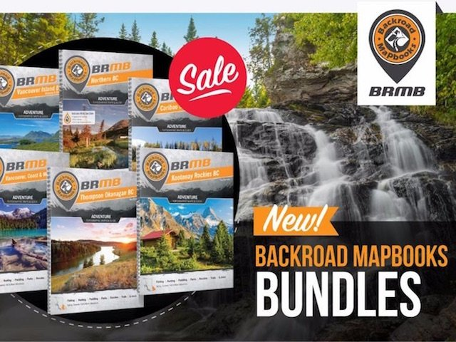 BC Backroad Mapbook Bundle