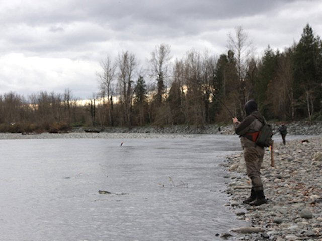 Late fall fishing in Region 2