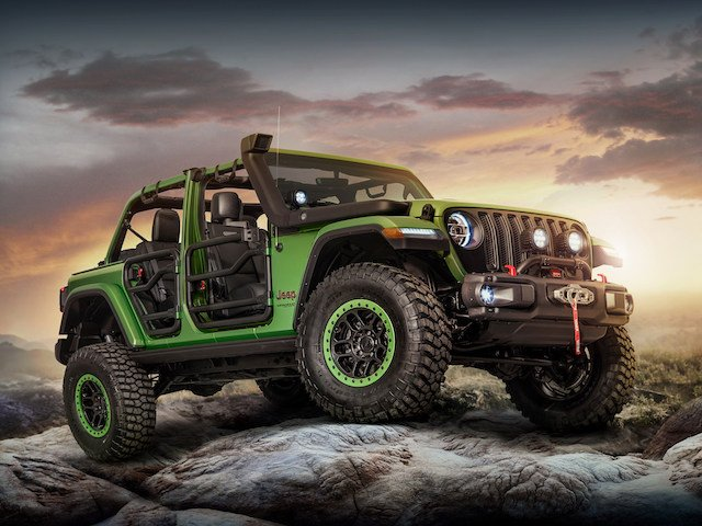 customized 2018 Jeep® Wranglers