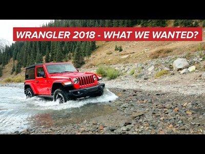 2018 Jeep Wrangler - Video teaser