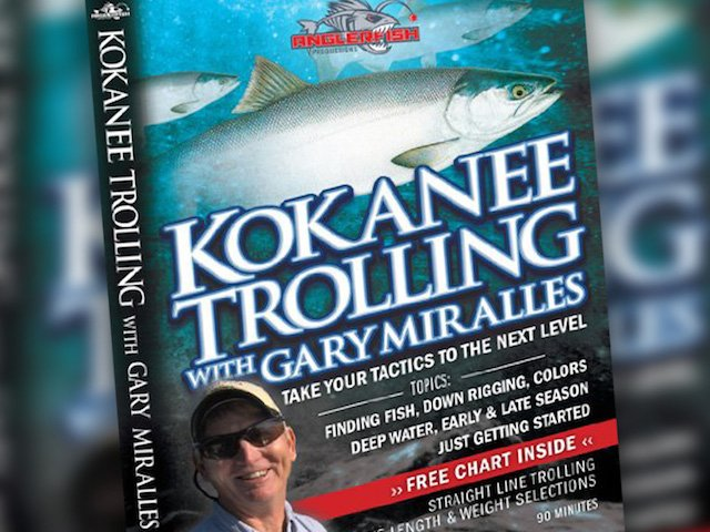 Kokanee Trolling video