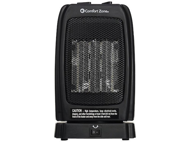 Comfort Zone® CZ448 Oscillating Ceramic Heater