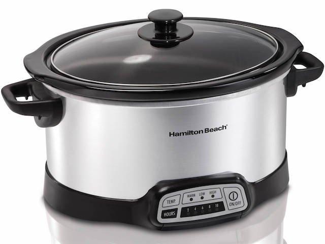 Hamilton Beach Programmable 5 Quart Slow Cooker