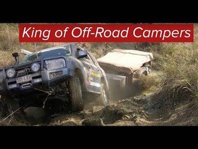 Black Series Dominator Off-Road camper trailer - Video teaser