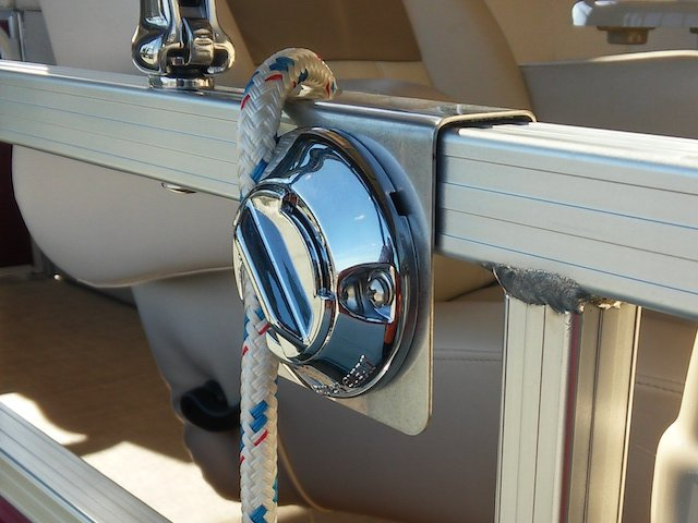 Quick Cleat HD Pontoon Rail Fender Clips