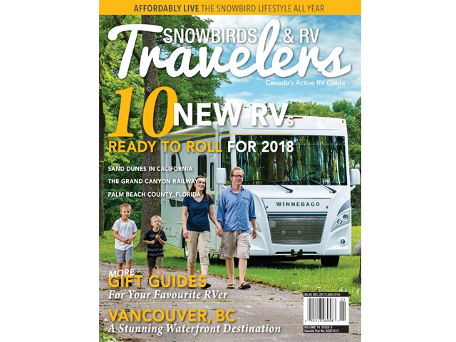Snowbirds & RV Travelers 14.8 cover