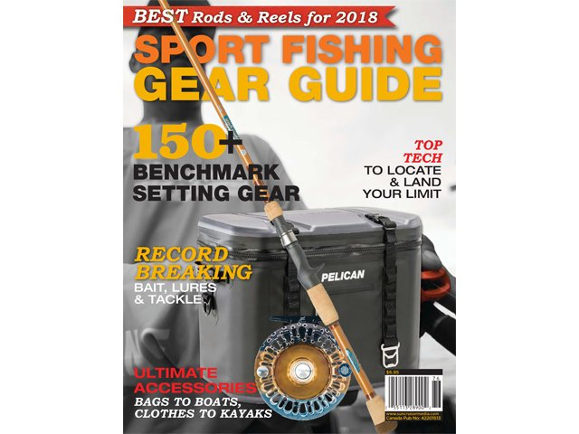 2018 Sport Fishing Gear Guide cover