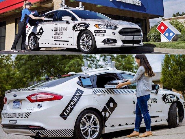 Autonomous Ford Driver