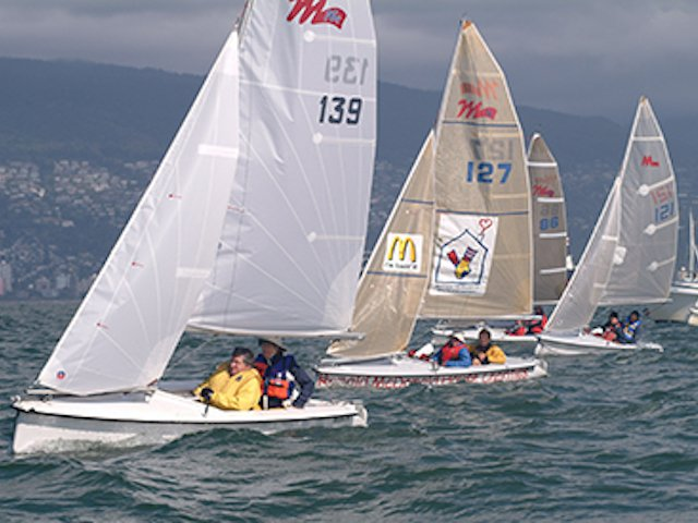 Disabled sailing race
