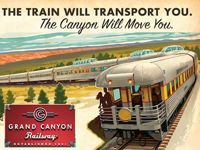 Ride in the luxury of the Grand Canyon Railway - Video teaser