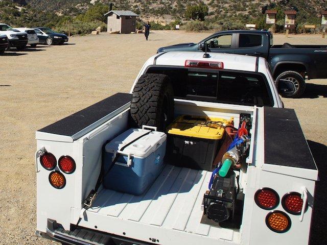Chev Colorado ZR2 Utility Truck