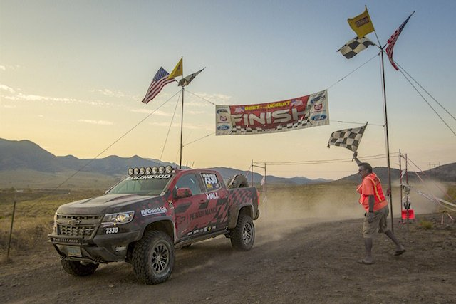 "Chev Colorado ZR2 completes ""Vegas to Reno"""