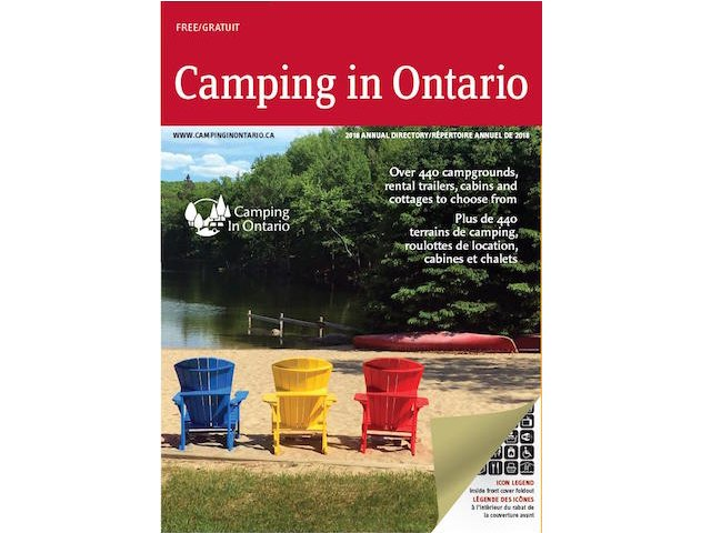 2018 Camping in Ontario directory