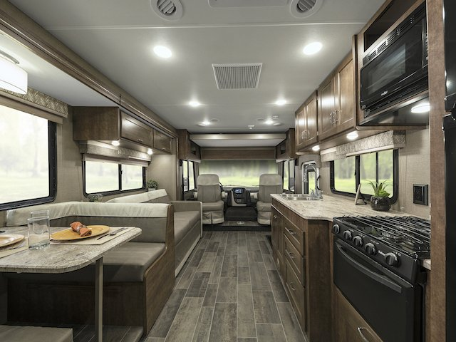 RV Trends For 2018 Winnebago Intent With Modern Residential Interior