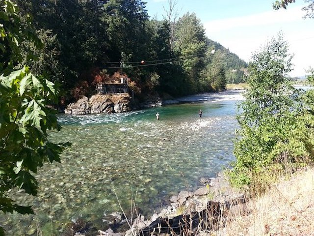 Fishing on the Vedder River